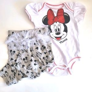 Minnie Mouse 2-piece Outfit